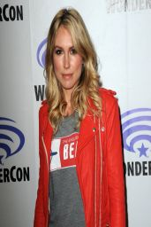 Sarah Carter - Falling Skies Press Line at WonderCon Anaheim 2014