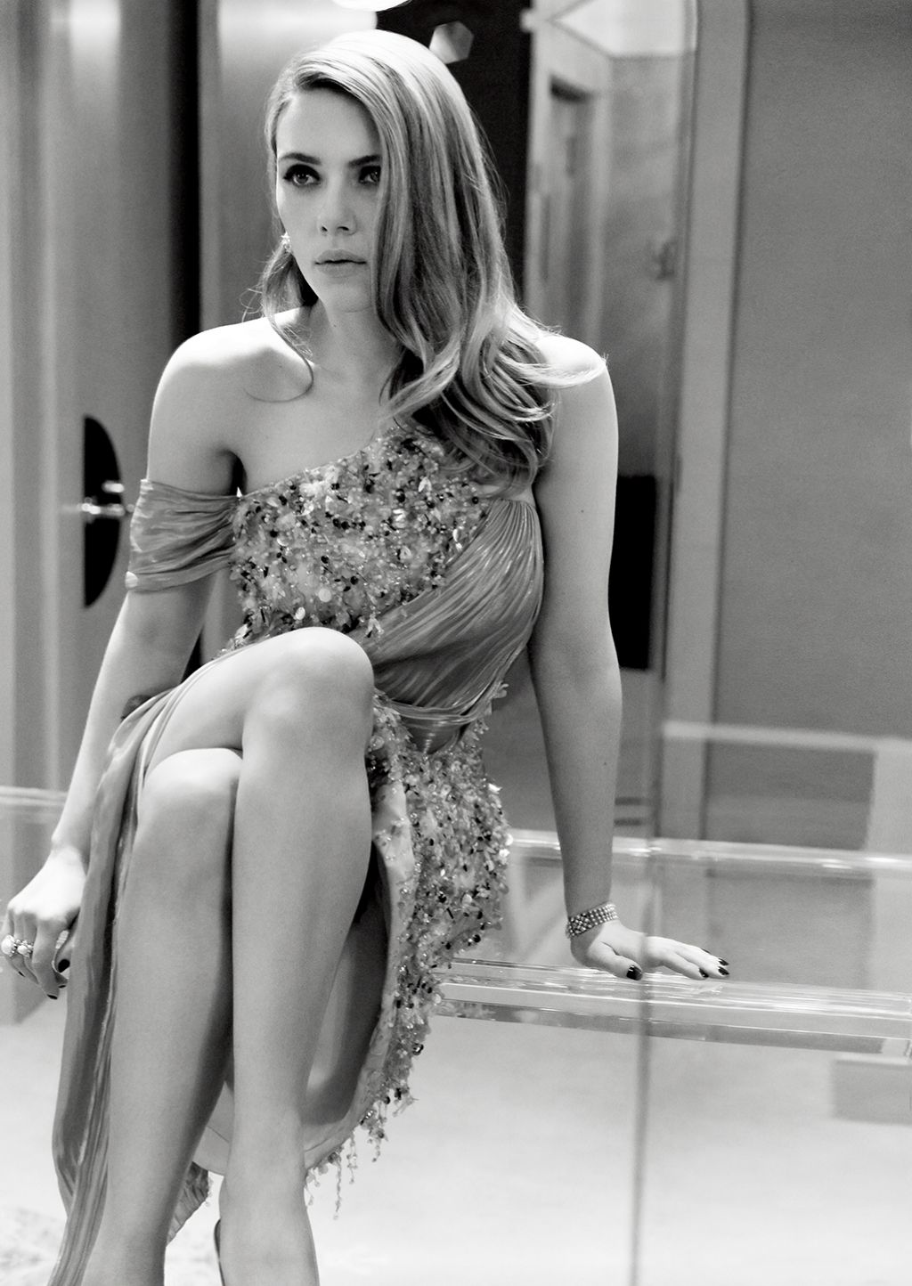 Scarlett Johansson Vanity Fair Magazine May 2014 Issue Hq