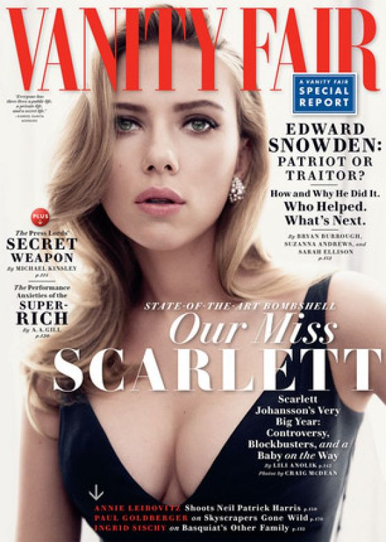 Scarlett Johansson - Vanity Fair Magazine May 2014 Issue