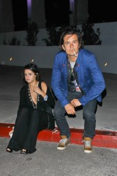 Selena Gomez and Orlando Bloom Outside LA Forum – April 2014