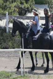 Selena Gomez - Horseback Riding - April 2014