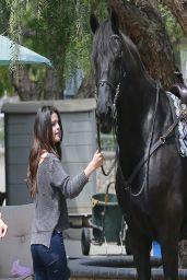Selena Gomez - Horseback Riding - April 2014