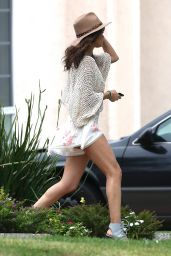 Selena Gomez Takes Her Legs out in Los Angeles - April 2014