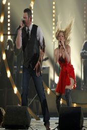 Shakira in KristianAadnevik Dress - 2014 Academy Of Country Music Awards in Las Vegas