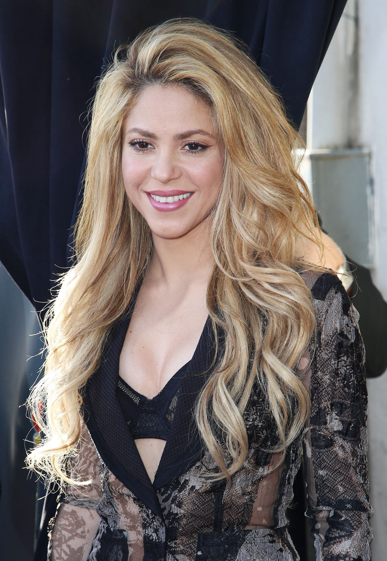 Shakira – 'The Voice' Red Carpet Event – April 2014 Shakira