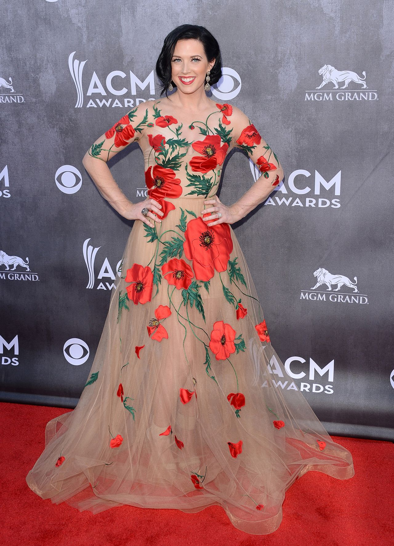 Shawna Thompson 2014 Academy Of Country Music Awards In