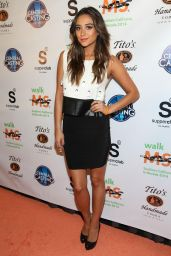 Shay Mitchell - L.A. Celebrity Walk MS Kick Off Event in Los Angeles, April 2014
