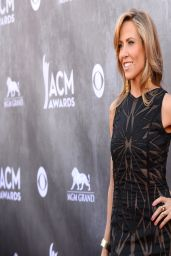 Sheryl Crow Wearing Christian Siriano Gown - 2014 Academy Of Country Music Awards in Las Vegas