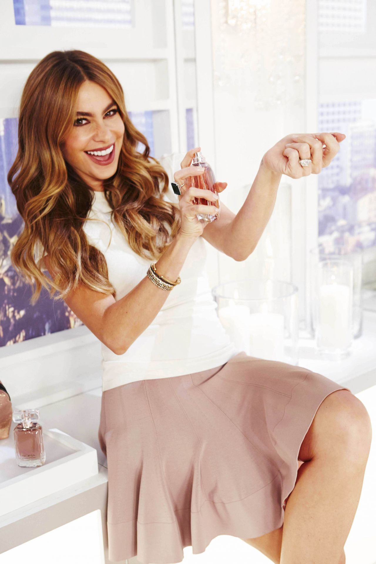 Sofia Vergara Launches New Fragrance - SOFIA