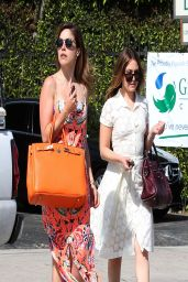 Sophia Bush Street Style – Out in West Hollywood, Los Angeles, April 2014