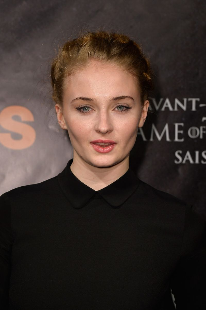 Sophie Turner Game Of Thrones Season 4 Paris Premiere