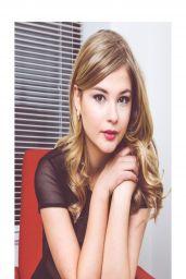 Stefanie Scott - NKD Magazine April 2014 Issue