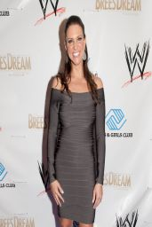 Stephanie McMahon Leggy in a Tight Dress - WWE Superstars for Kids Event - April 2014