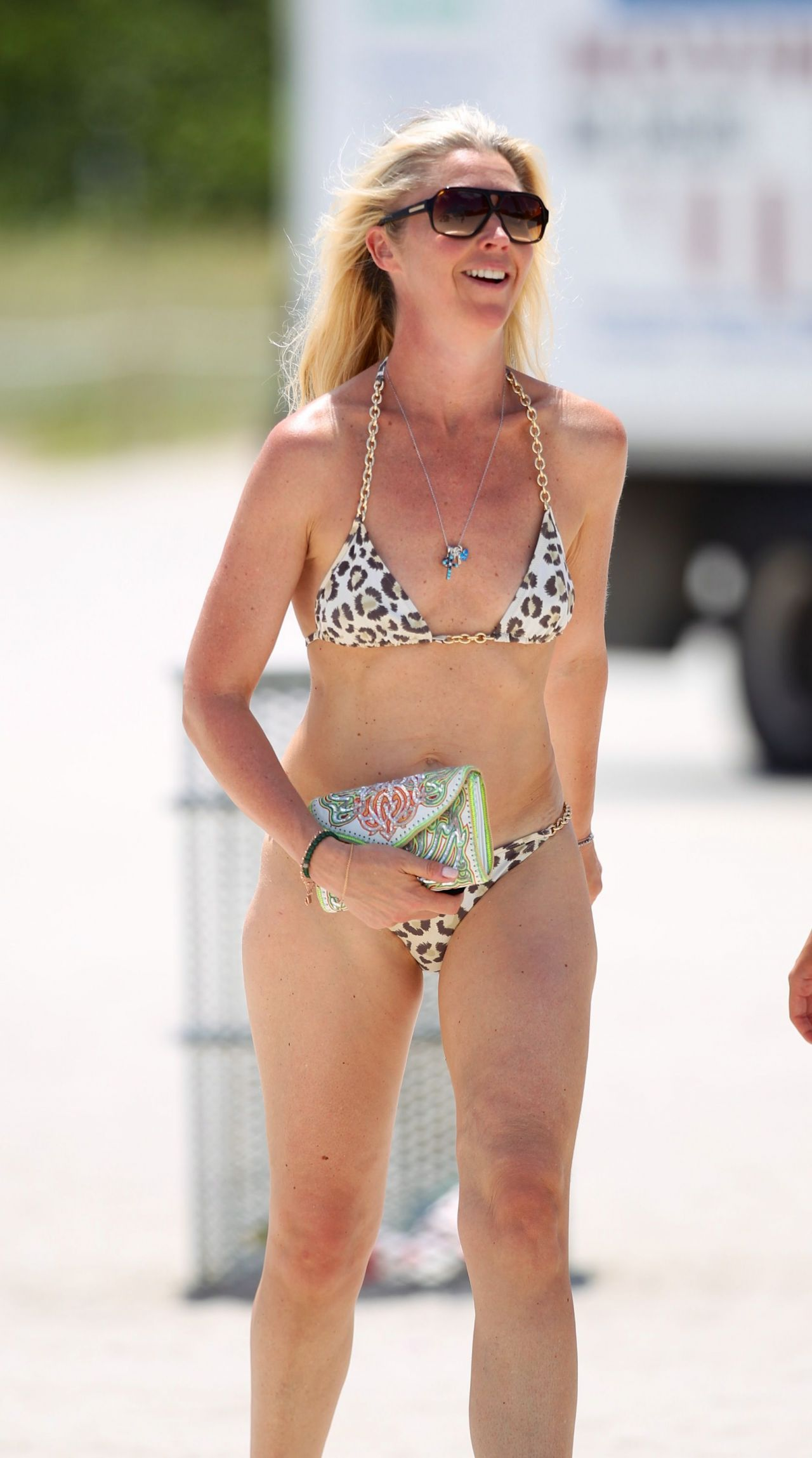 Tamara Beckwith in a Bikini - Beach in Miami - April 2014