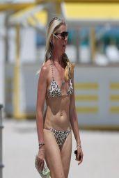 Tamara Beckwith in a Bikini - Beach in Miami - April 2014