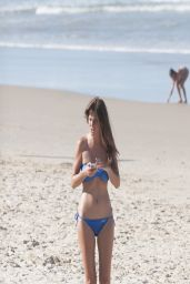 Tara Reid Bikini Candids - on the Beach With Friends - April 2014