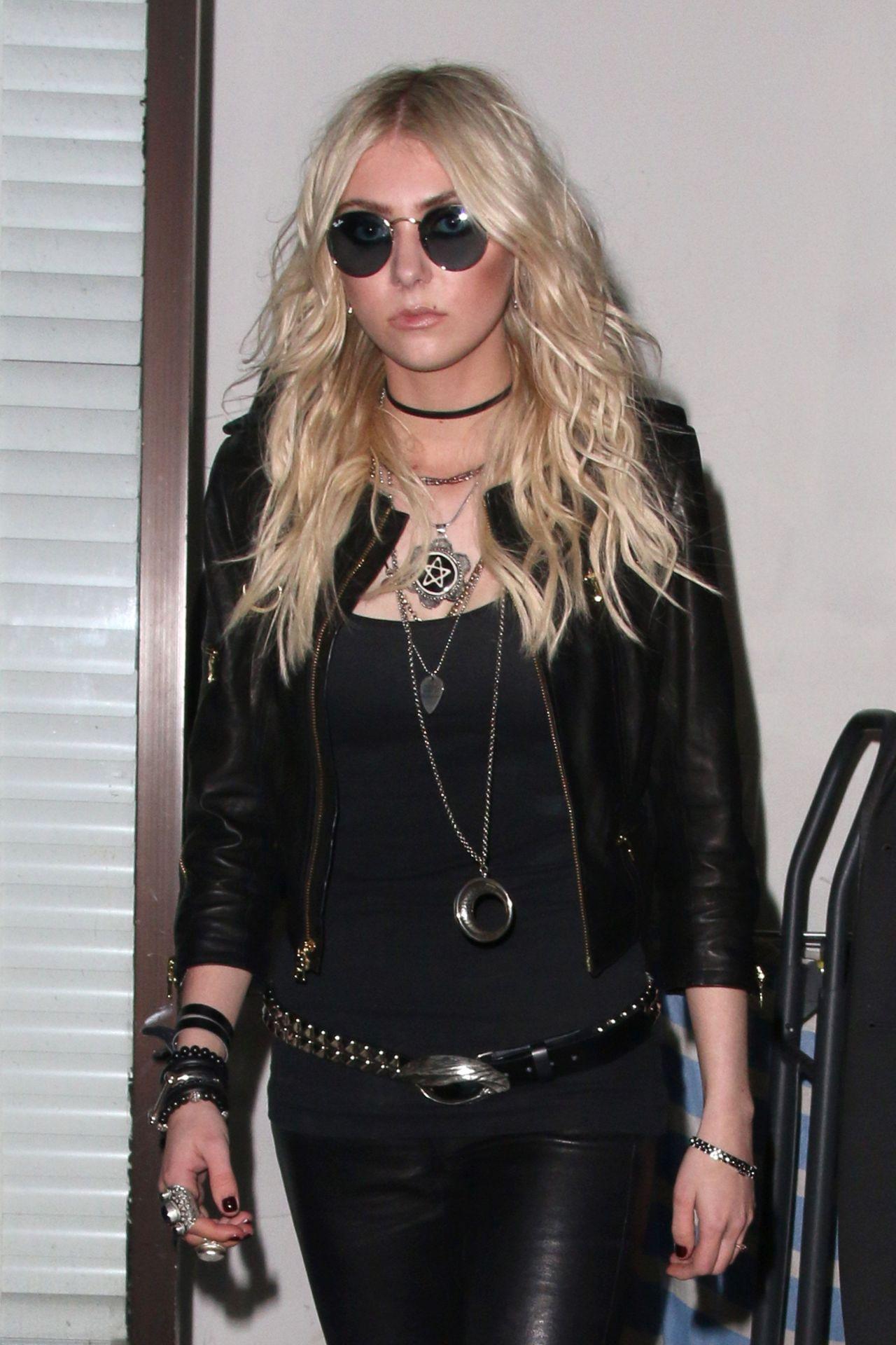 Taylor Momsen Night Out Style Leaving Warwick Nightclub