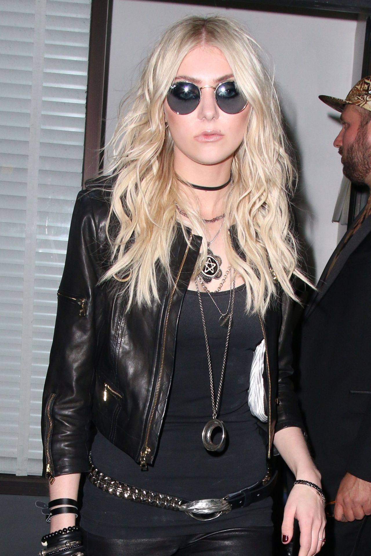 Taylor Momsen Night Out Style Leaving Warwick Nightclub