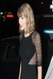 Taylor Swift - Arrives at the SNL Studios - April 2014