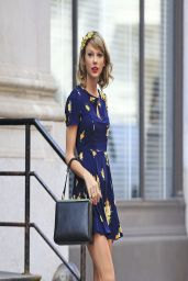 Taylor Swift in New York City - Leaving Her Apartment - April 2014