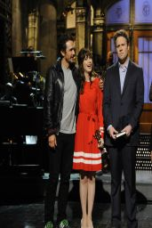Taylor Swift, James Franco, Zooey Deschanel & Seth Rogen - Saturday Night Live - April 2014