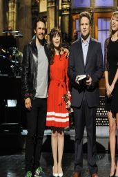 Taylor Swift, James Franco, Zooey Deschanel & Seth Rogen - Saturday Night Live - April 2014