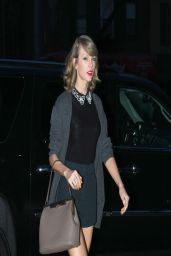 Taylor Swift & Karlie Kloss Night Out Style - Out in New York City - April 2014