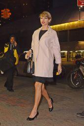 Taylor Swift & Sarah Hyland in New york City - Leaving KOI Restaurant