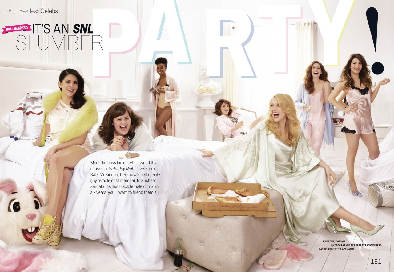 The Women of SNL - Cosmopolitan Magazine May 2014 Issue