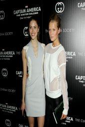 Toni Garrn - 'Captain America: The Winter Soldier' Premiere in NYC