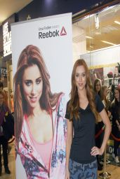 Una Healy in Spandex - Reebok Summer Fitness Collection - Dublin Ireland, April 2014
