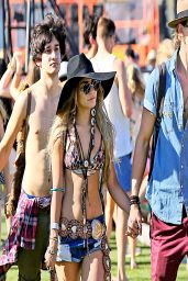 Vanessa Hudgens - 2014 Coachella Valley Music & Arts Festival in Indio