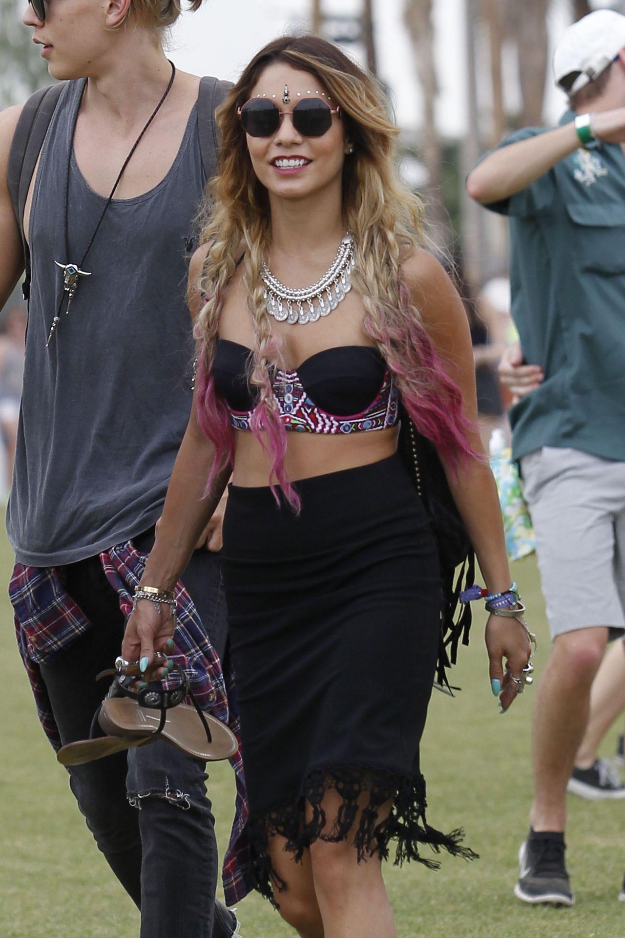 Vanessa Hudgens – Coachella Music Festival - April 18, 2014