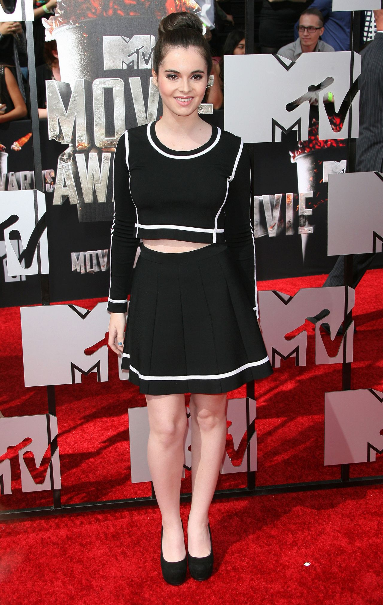 Vanessa Marano - 2014 MTV Movie Awards in Los Angeles