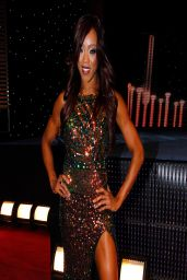 Victoria Crawford (Alicia Fox) - WWE Hall of Fame Induction Ceremony - April 2014