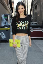 Victoria Justice at 2014 Upfront Event in New York City