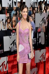 Victoria Justice in Atelier Versace Dress - 2014 MTV Movie Awards