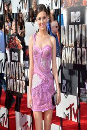Victoria Justice in Atelier Versace Dress - 2014 MTV Movie Awards