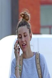 Whitney Port - Leaving Spin Class in Santa Monica - April 2014