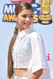 Zendaya Coleman at the 2014 Radio Disney Music Awards in Los Angeles