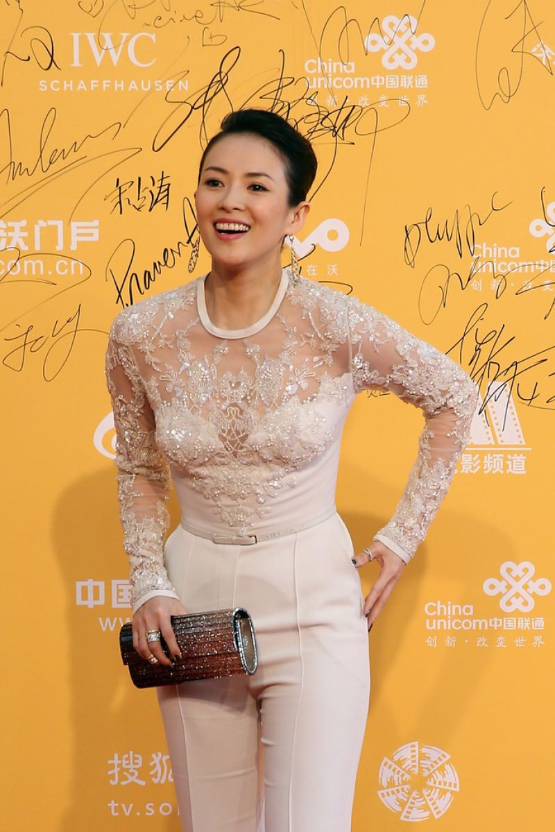 zhang ziyi red carpet 2017 - photo #36