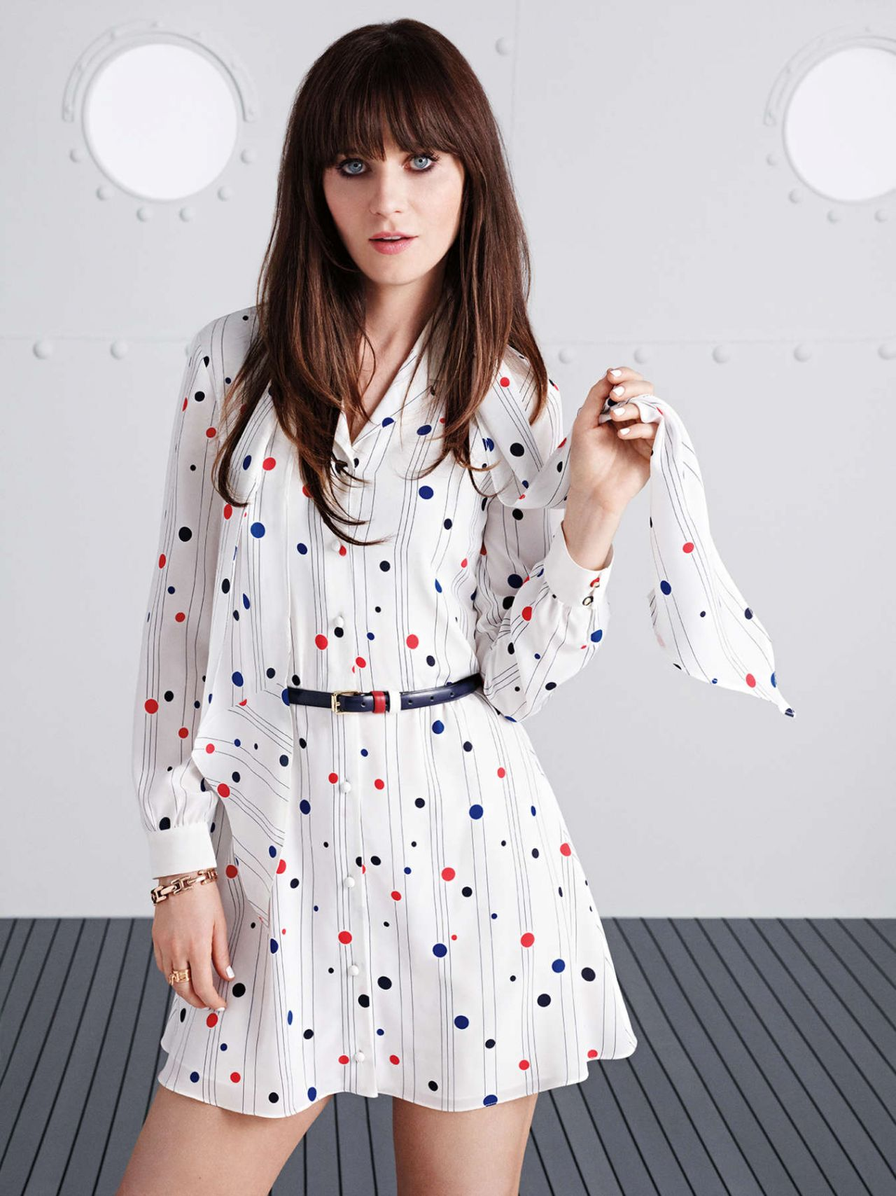 Zooey Deschanel Photoshoot For Tommy Hilfiger 2014