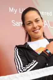Ana Ivanovic - Samsung Booth - Mutua Madrid Open 2014 - Day Five
