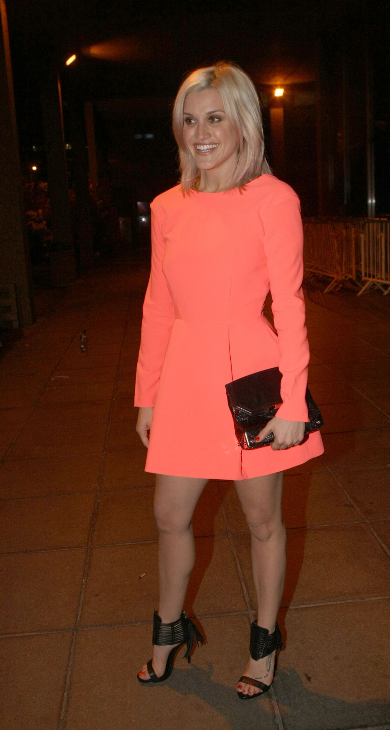 Ashley Roberts - Outside Studio for The Late Late Show in Dublin (Ireland) - May 2014