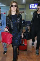 Adele Exarchopoulos arriving Nice Airport - 2014 Cannes Films Festival