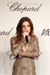 Adele Exarchopoulos in Valentino Couture – Chopard Trophy at Cannes Film Festival 2014