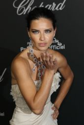 Adriana Lima - Chopard Backstage Party - 2014 Cannes Film Festival