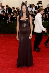 Adriana Lima Wearing Givenchy Couture Dress - 2014 Met Gala
