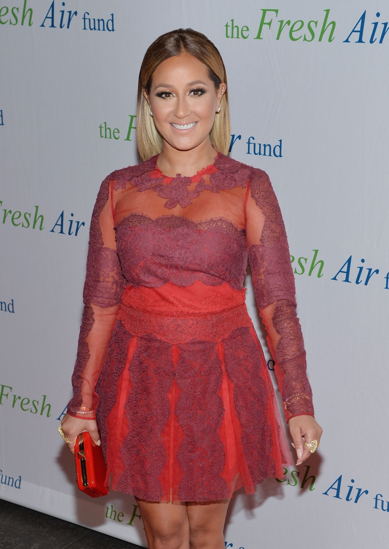 Adrienne Bailon - 2014 Fresh Air Fund Honoring Our American Hero in New York City