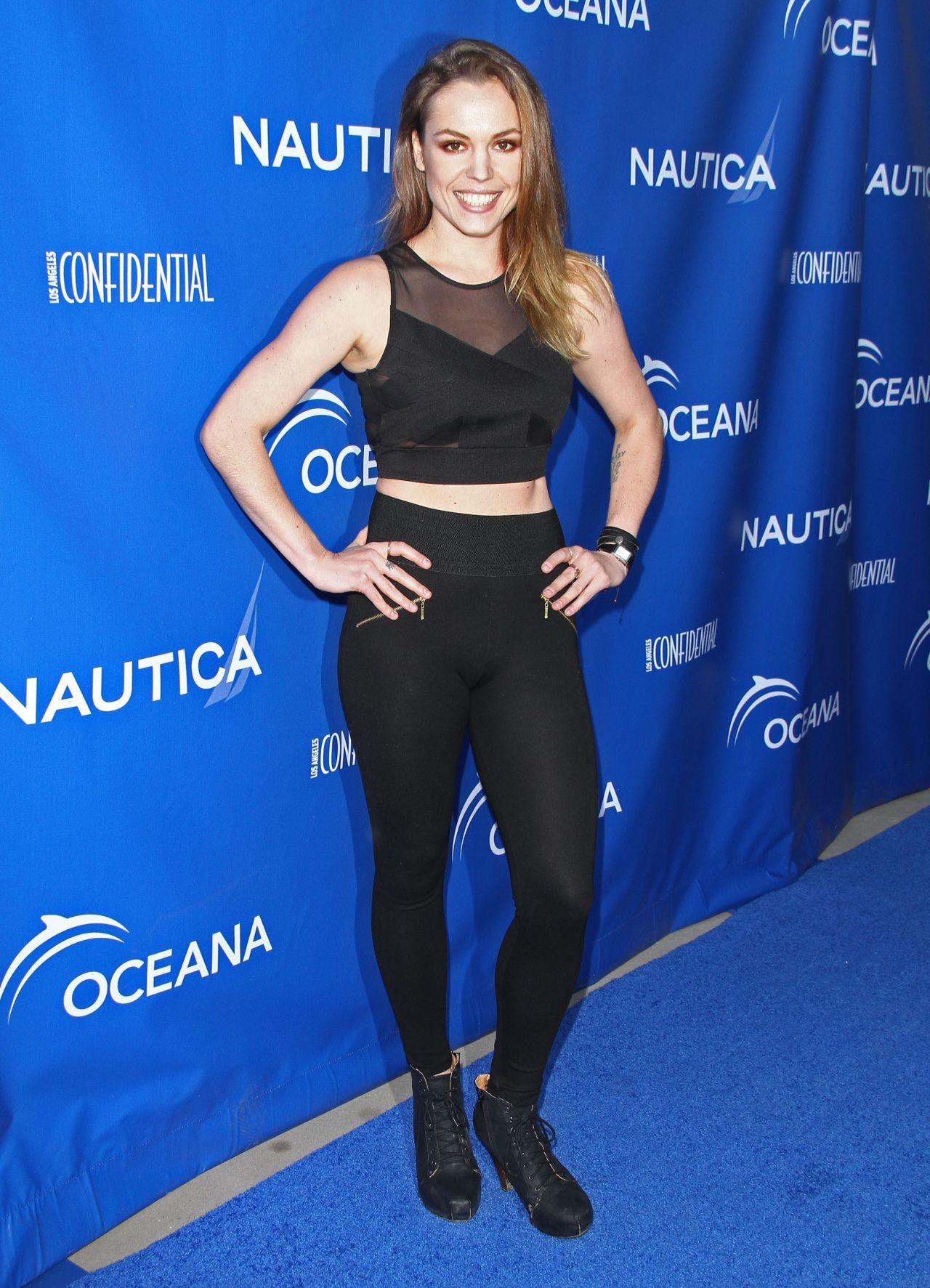 Agnes Bruckner – Nautica Oceana Beach House Party – May 2014